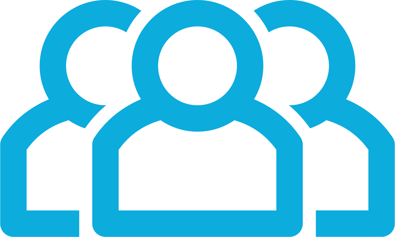 IT delivery team icon