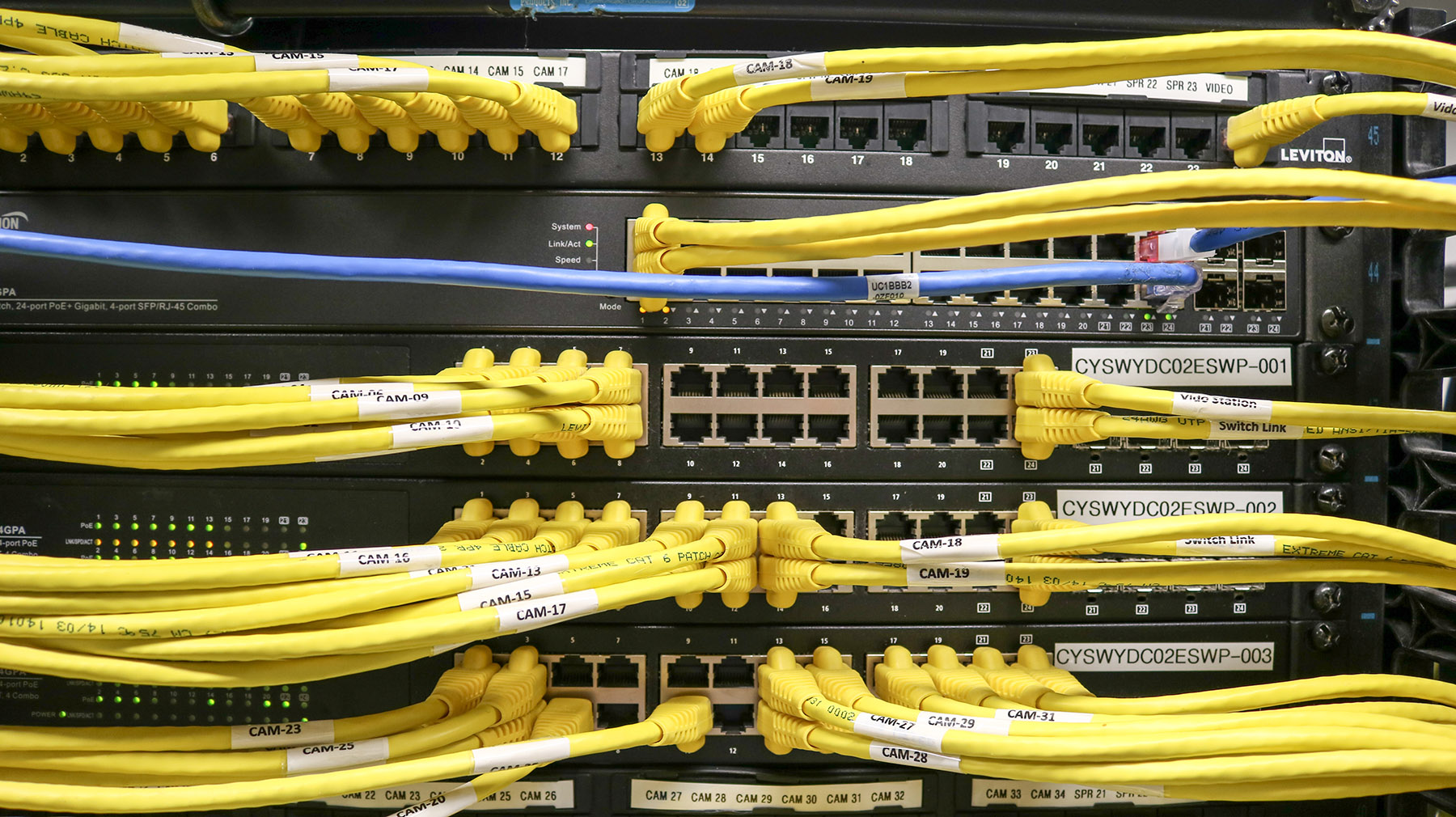 data center network connectivity and cabling
