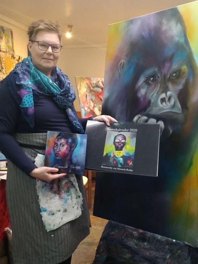 Verlosung zur Spende für das Krefelder Affenhaus
