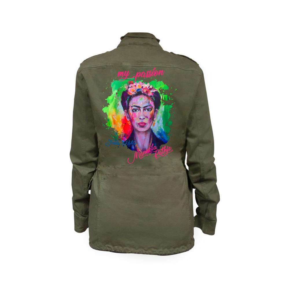 Canvas Jacke - Frida Kahlo SALE !!!