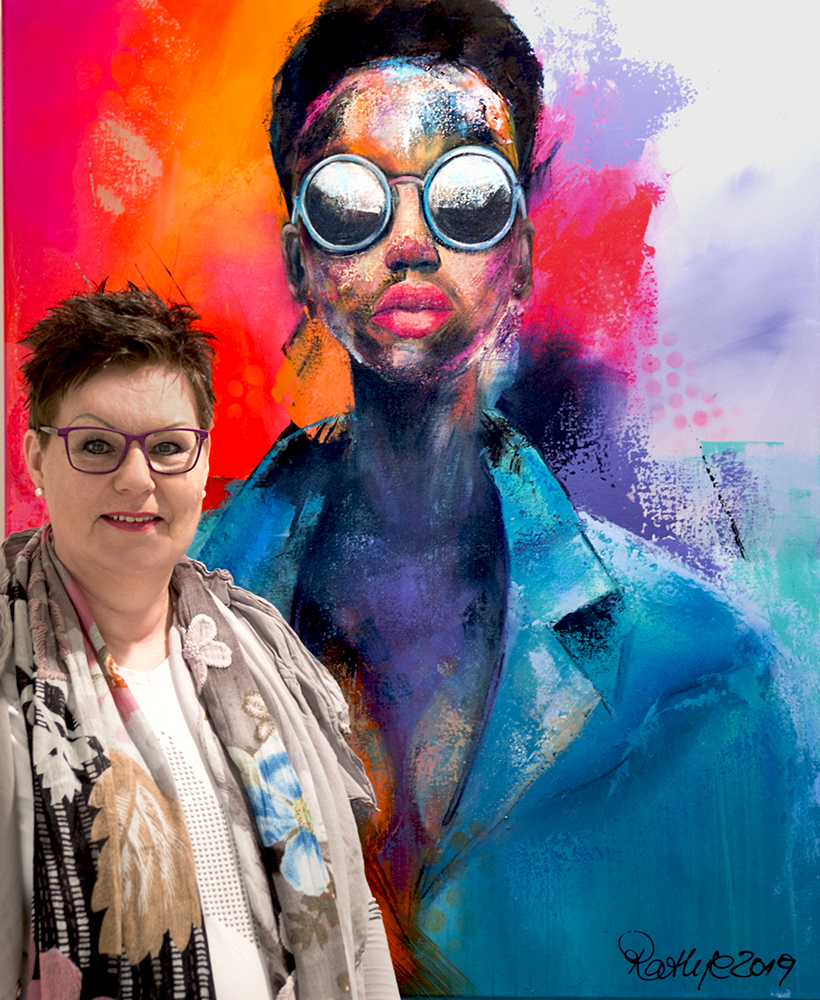 BY THE POWER OF COLOUR! IN AN INTERVIEW WITH MANUELA RATHJE.