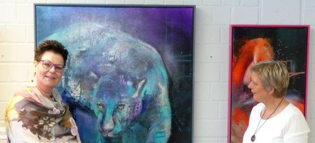 Mensch und Tier- Laudatio der Galeristin Marid Taubert Galerie Tobien