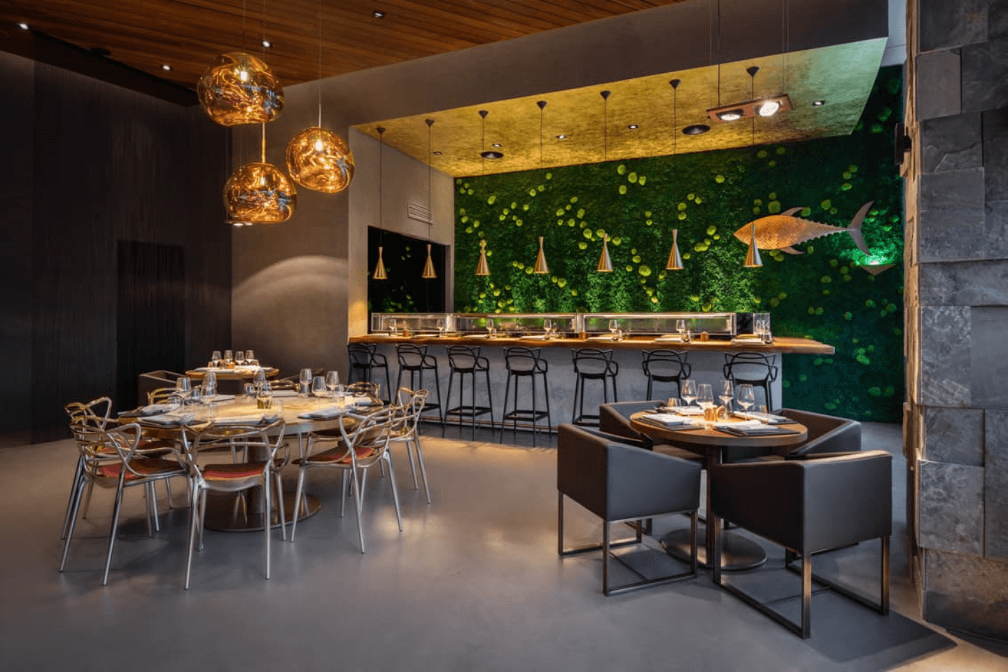 Restaurant fit out contractors dubai