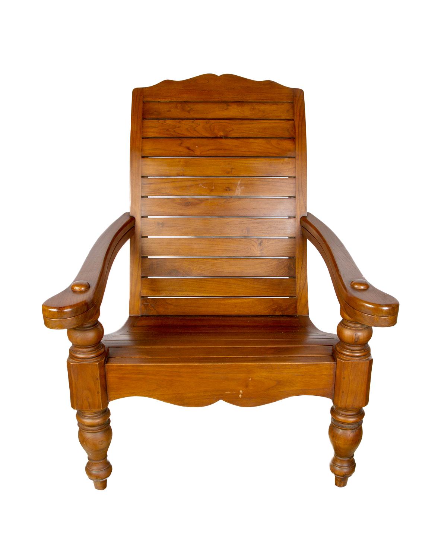 Teak wood plantation chair