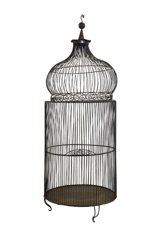 Moroccan cage in iron