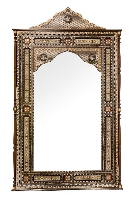 Moroccan Inlaid Mirror