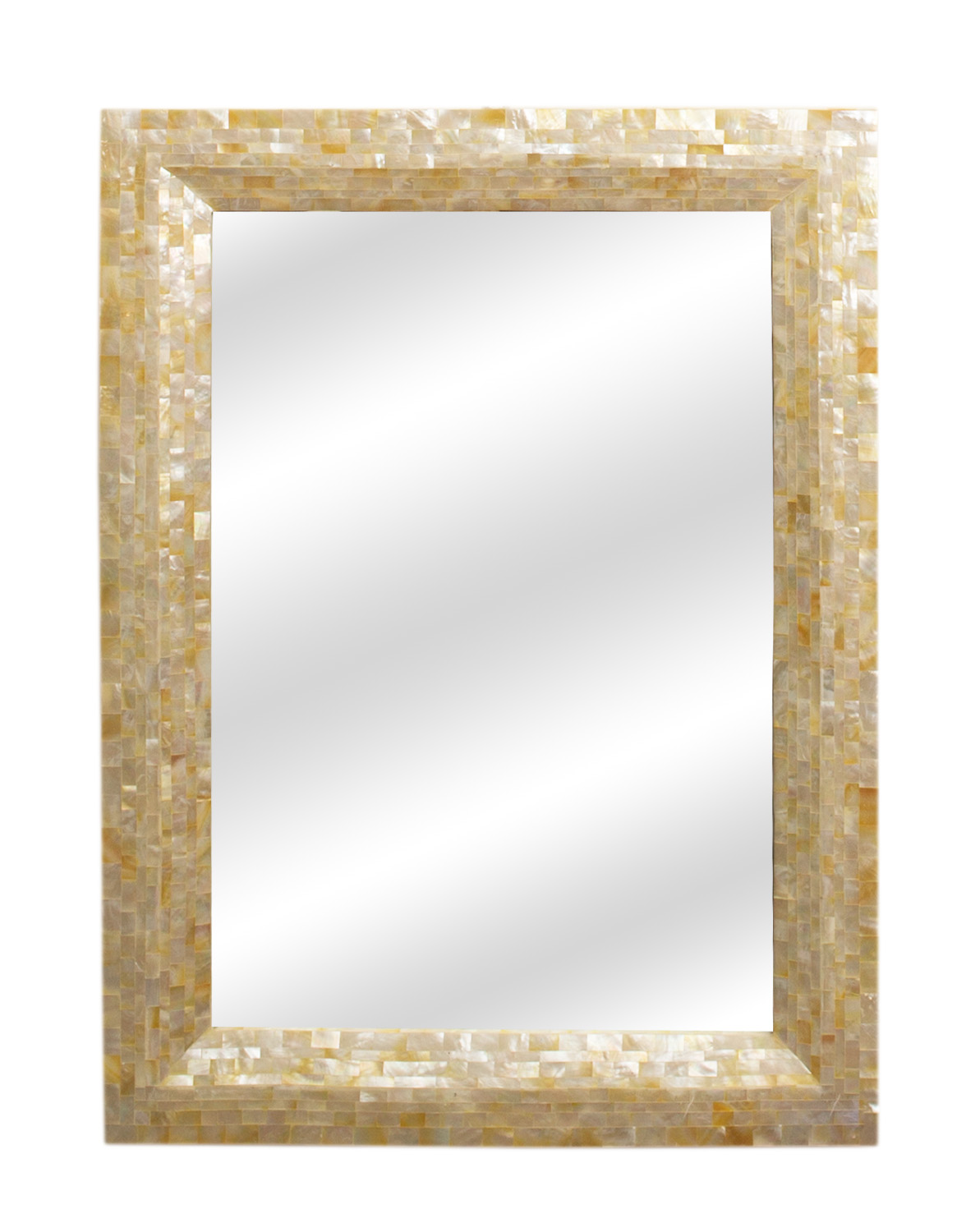 Rectangular Mirror Mother Of Pearl Frame