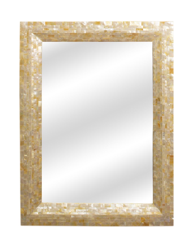 Espejo en madera y nácar