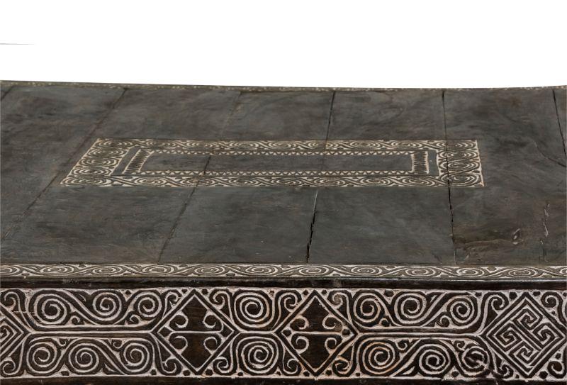 Sofá cama Timor tallado, 248 Cm