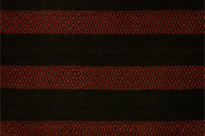 Tapete rectangular Hechizoo, azul-rojo
