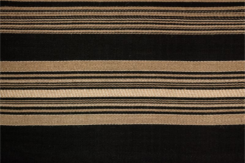 Tapete rectangular Hechizoo, natural-azul