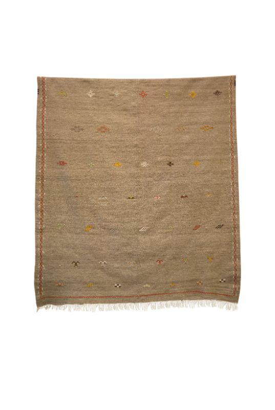 Moroccan rug cactus silk Zafrán