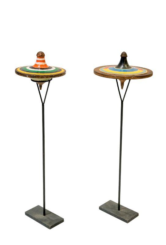 Trompos decorativos en cerámica, 23 Cm