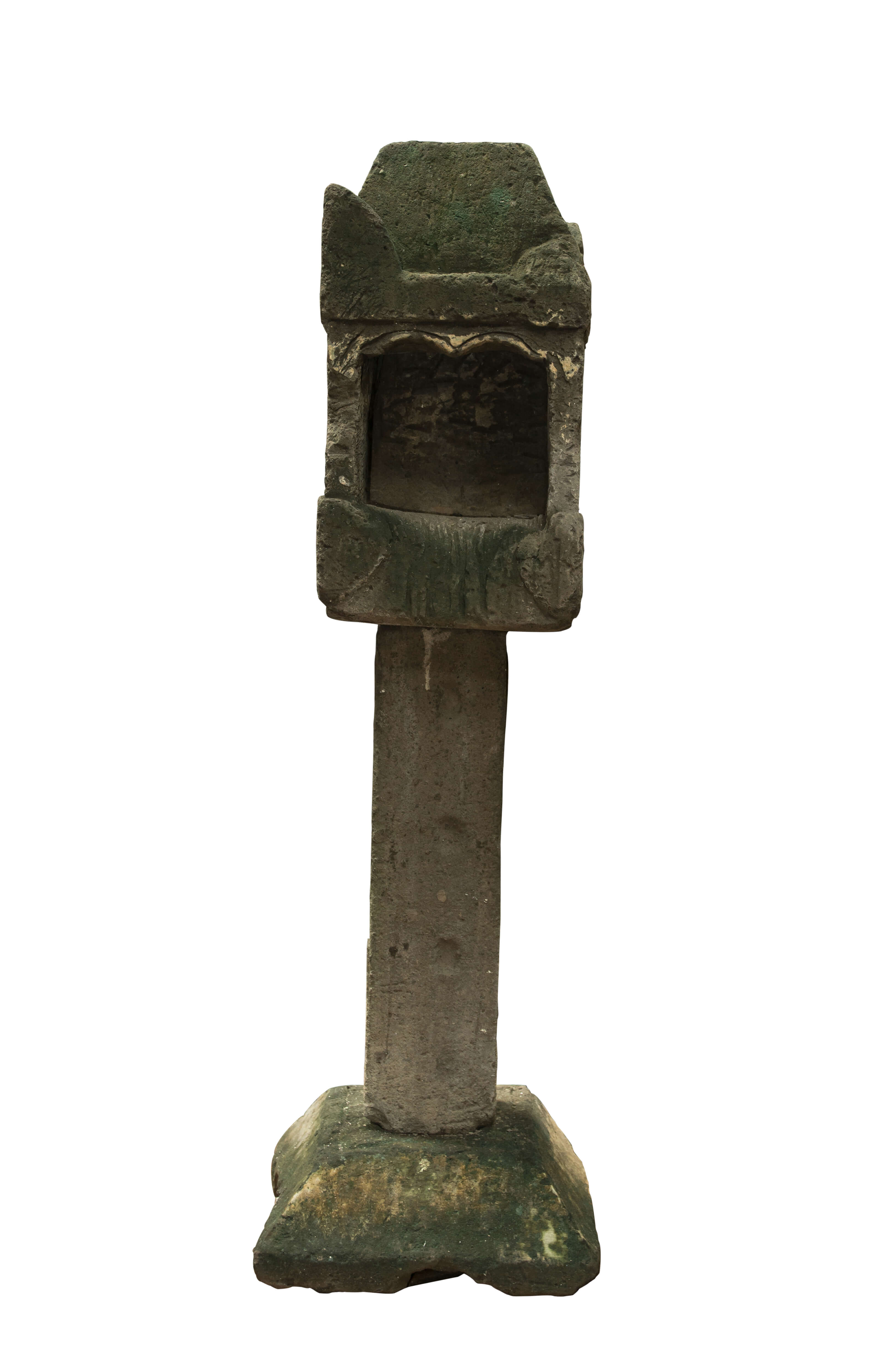 Balinese Lantern in limestone