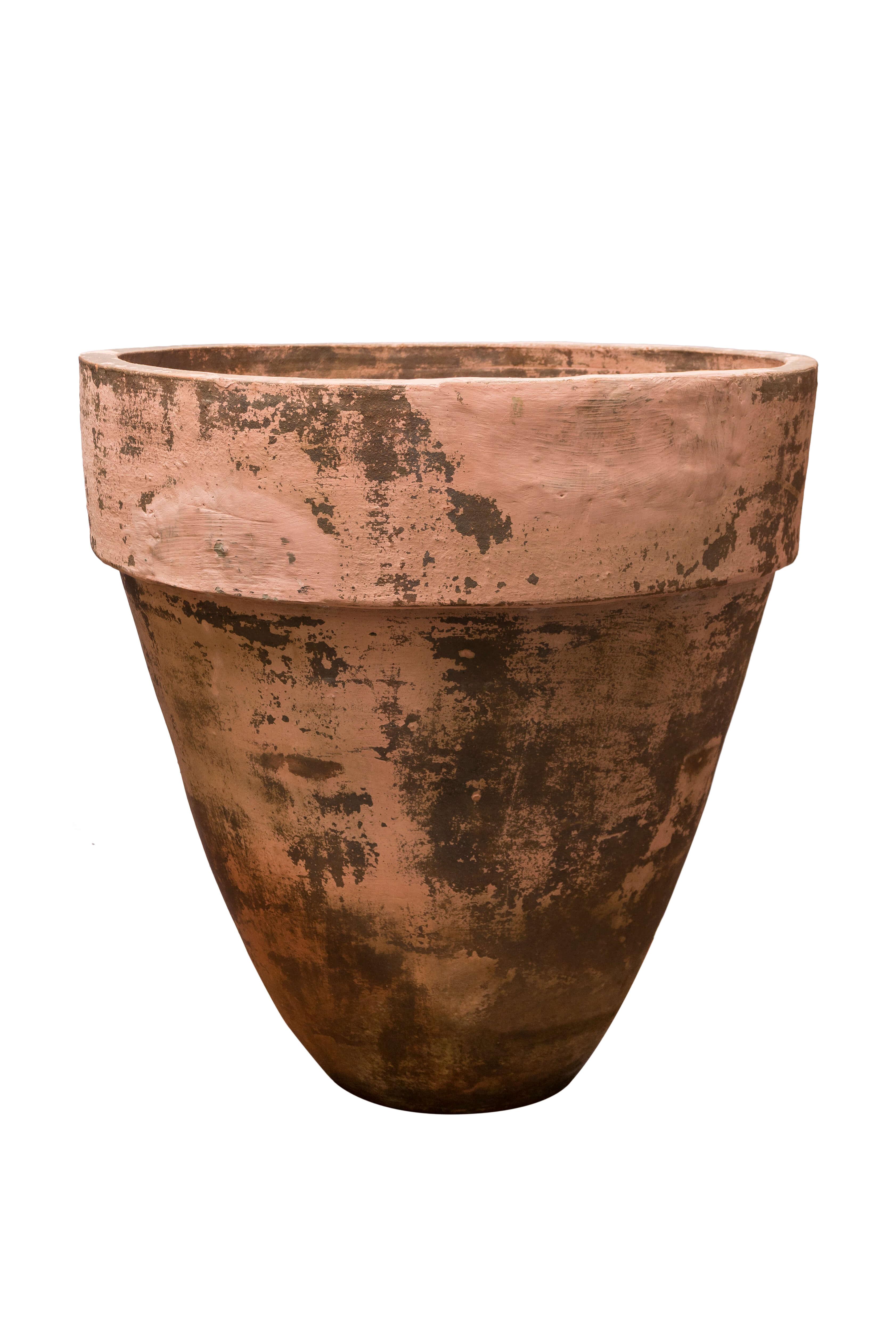 Vintage Balinese earthenware jar