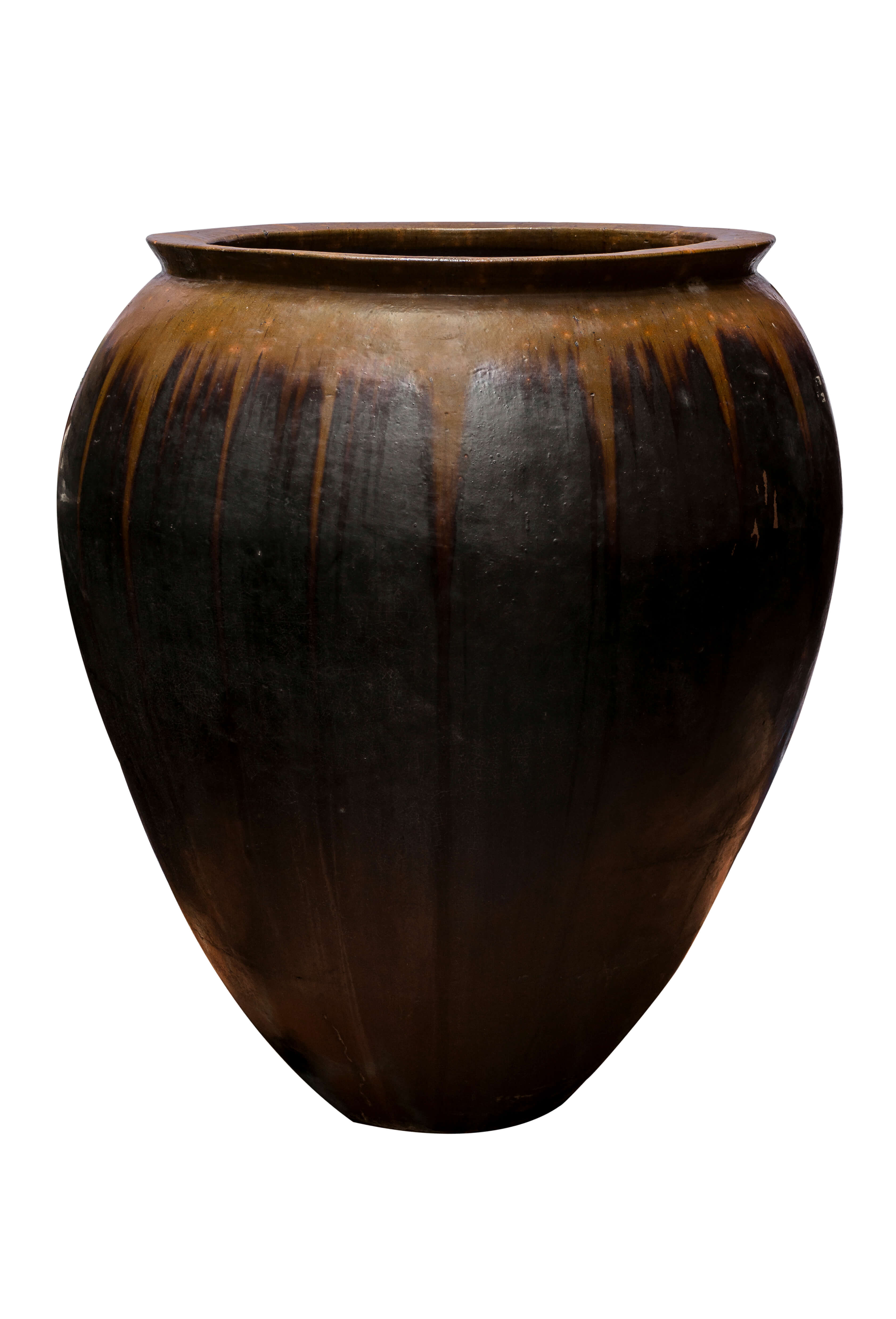 Balinese black earthenware jar