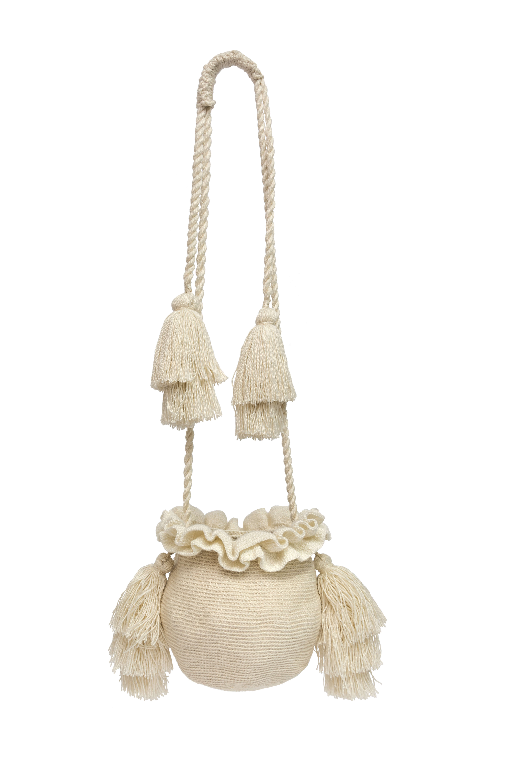 Backpack La Guapa white