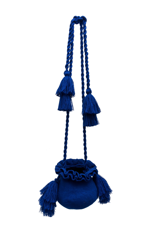 Backpack La guapa royal blue