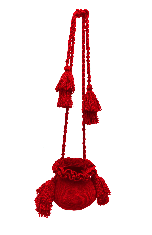 Mochila La Guapa roja