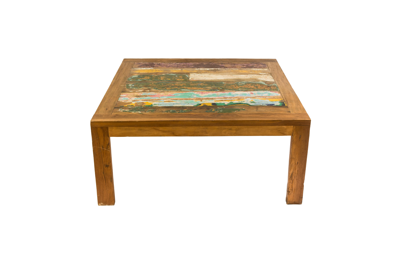 Coffee table in teak wood