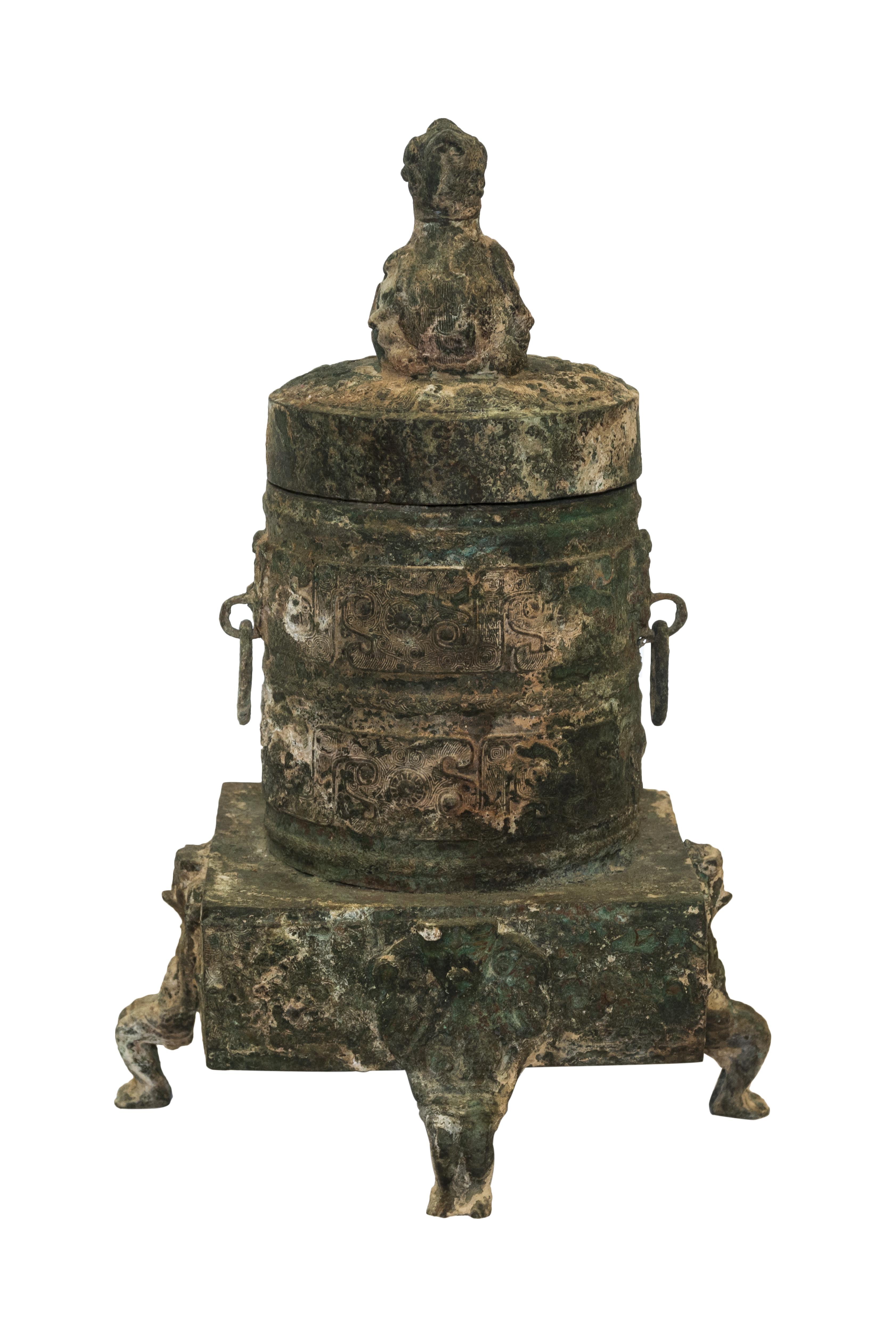 Escultura vintage en bronce