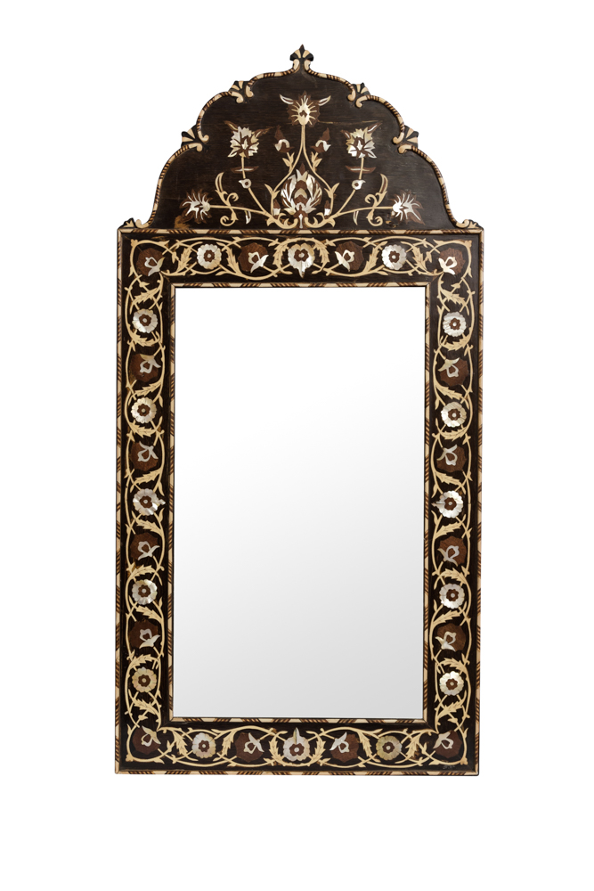Moroccan Carved Mirror