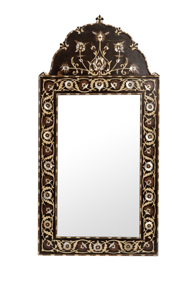 Espejo Marroquí Tallado