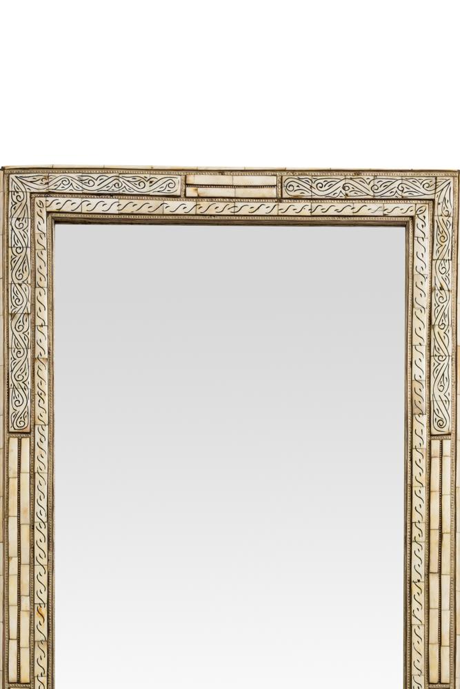 Espejo rectangular Marroquí diseño olas