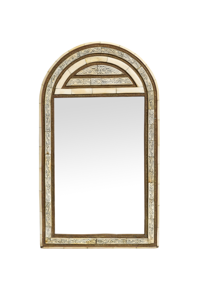 Moroccan Mirror In The Shape Of An Arch