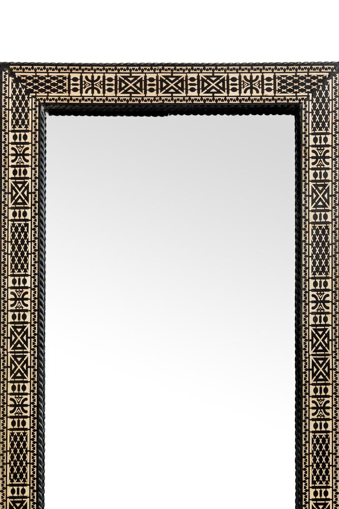Espejo rectangular Marroquí tradicional
