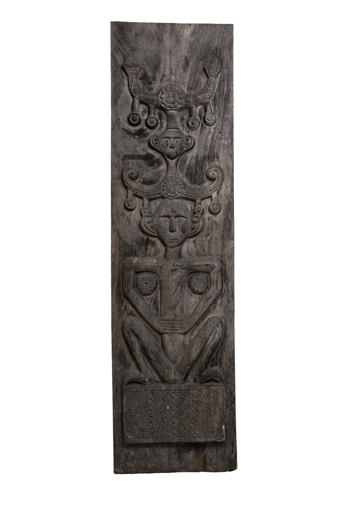 Timor panel carved in wood