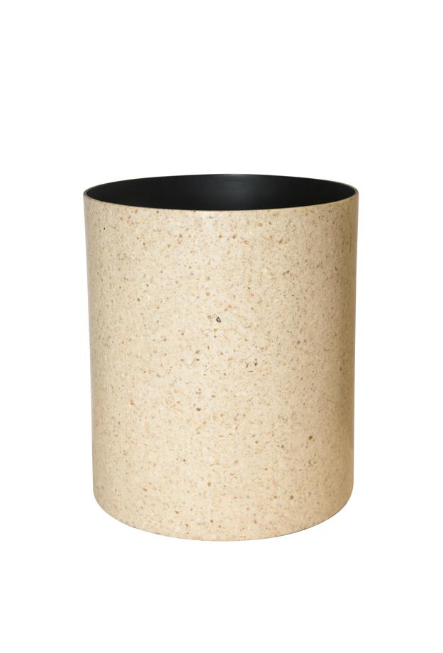 Granite litter bin