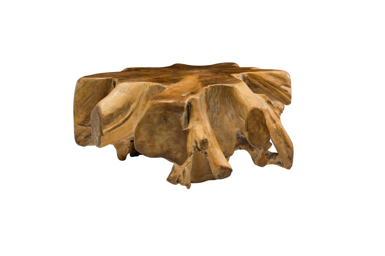 Coffee table teak root, 100 Cm