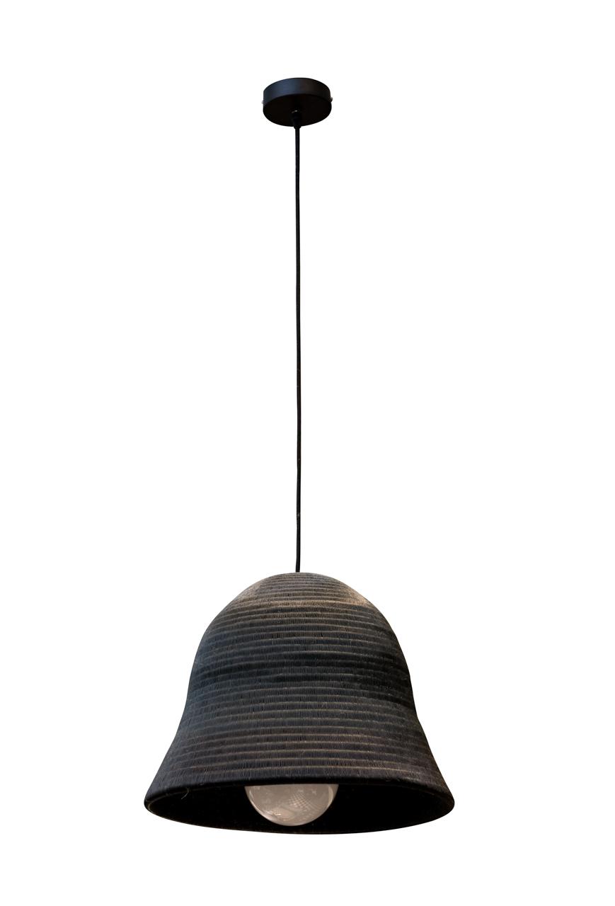 Lámpara de colgar Werregue negro