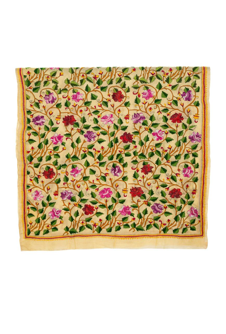 Decorative fabric India Leaves