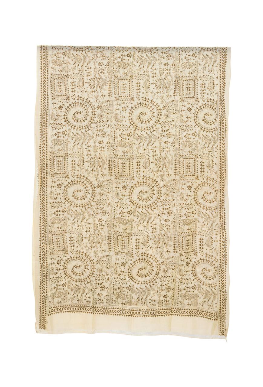 Decorative fabric India Spirals