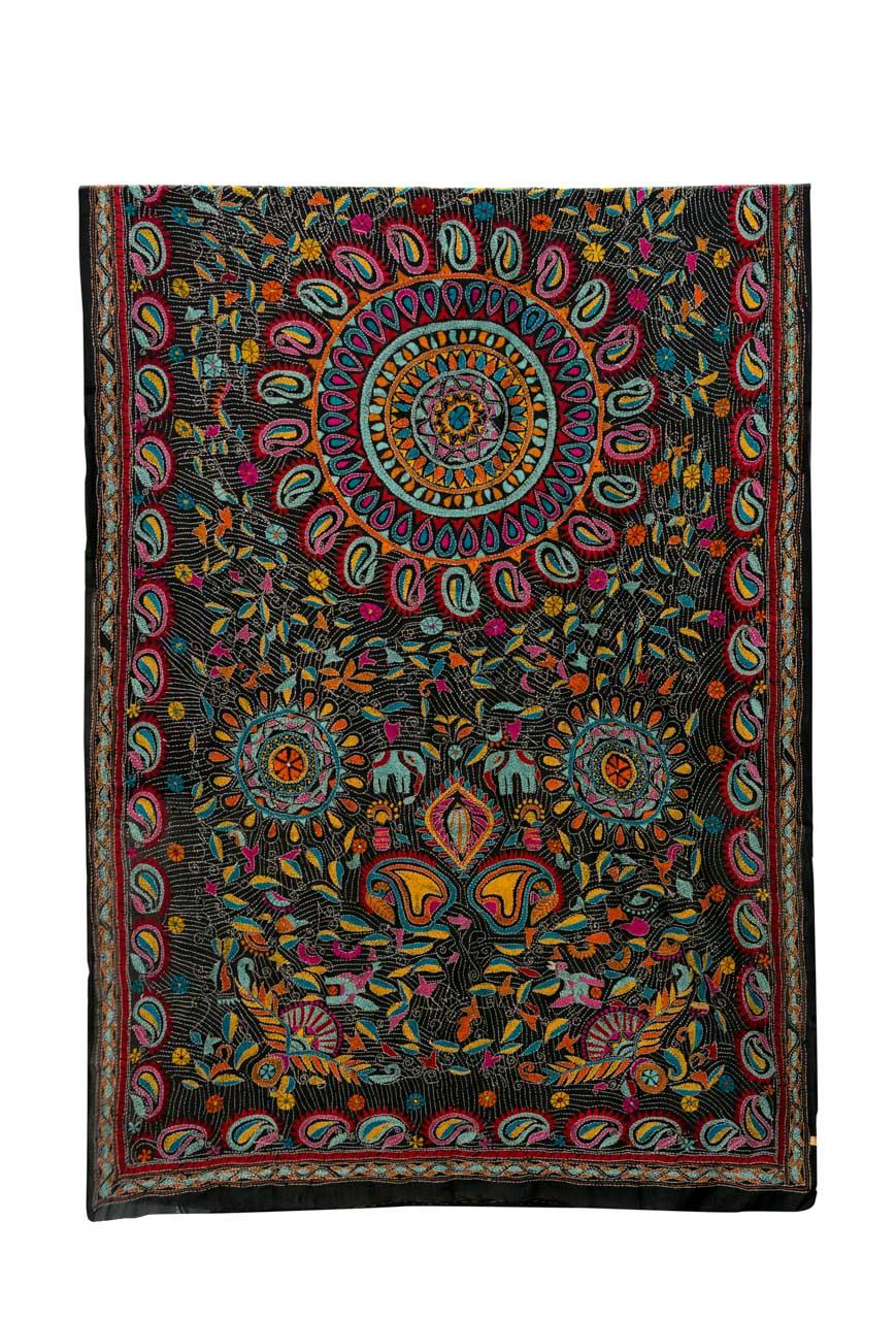 Indian  decorative fabric mandala