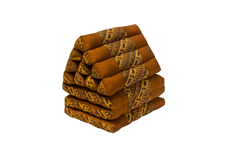 Cojín Tailandés plegable marrón