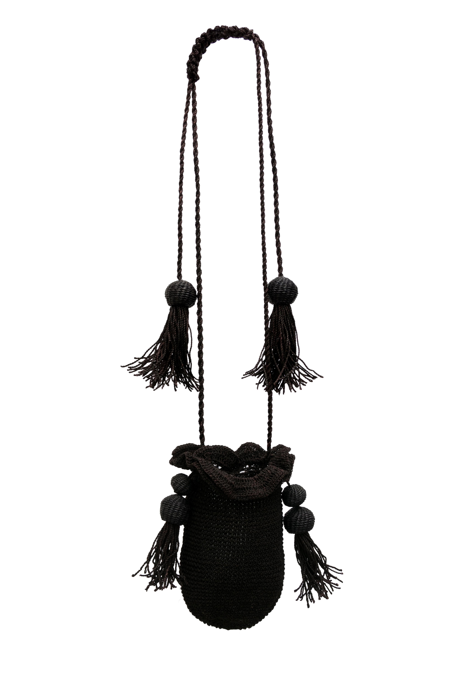 Black cumare backpack