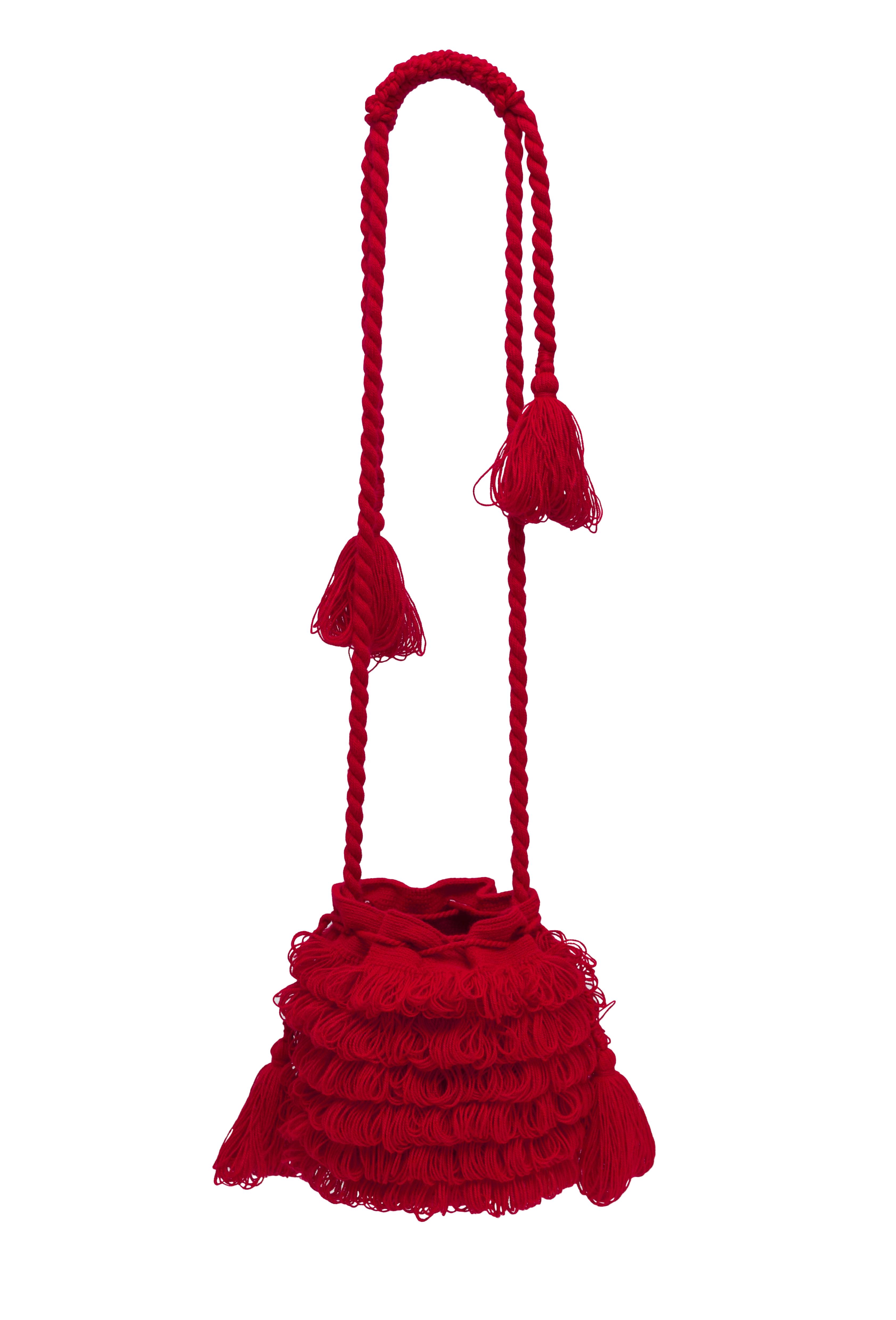 Mochila Bigotes rojo