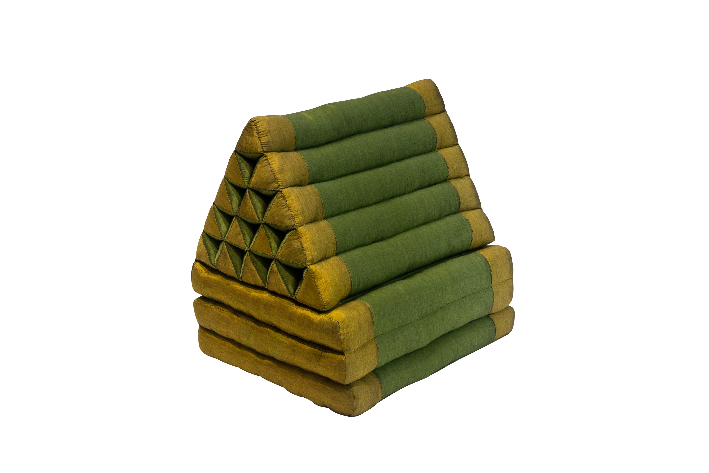 Thai folding cushion green