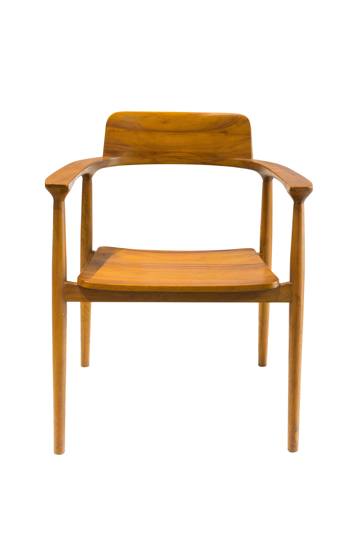 Teak wood chair natural colour