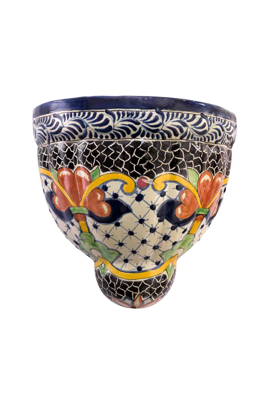 Wall lamp Talavera multicolor