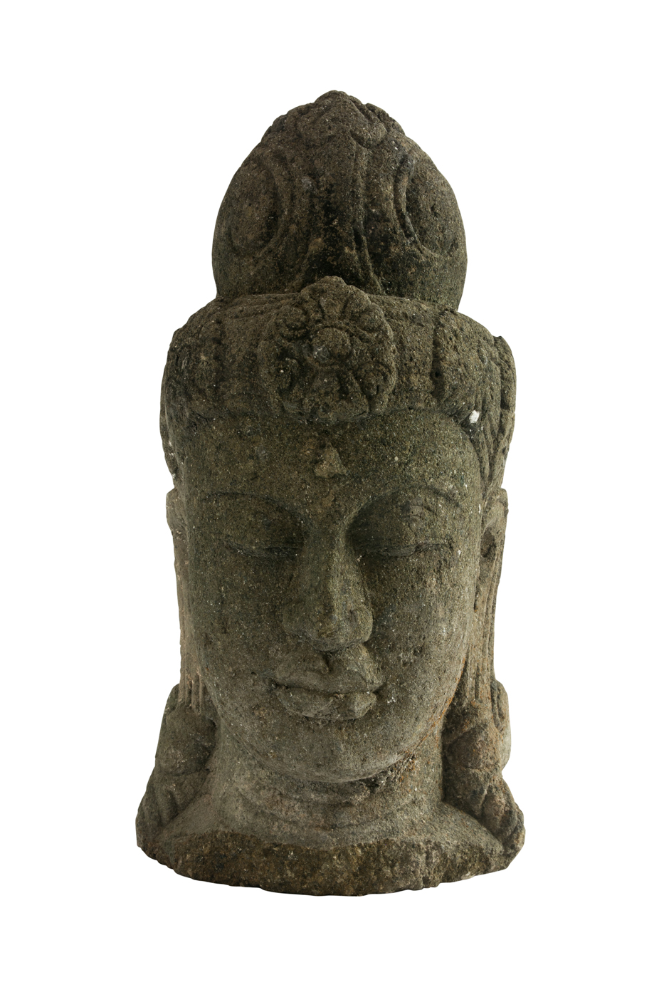 Sculpture carved Buddha head
