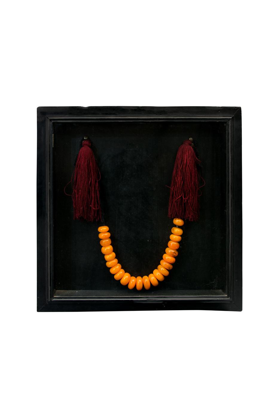 Collar decorativo semilla de Ámbar