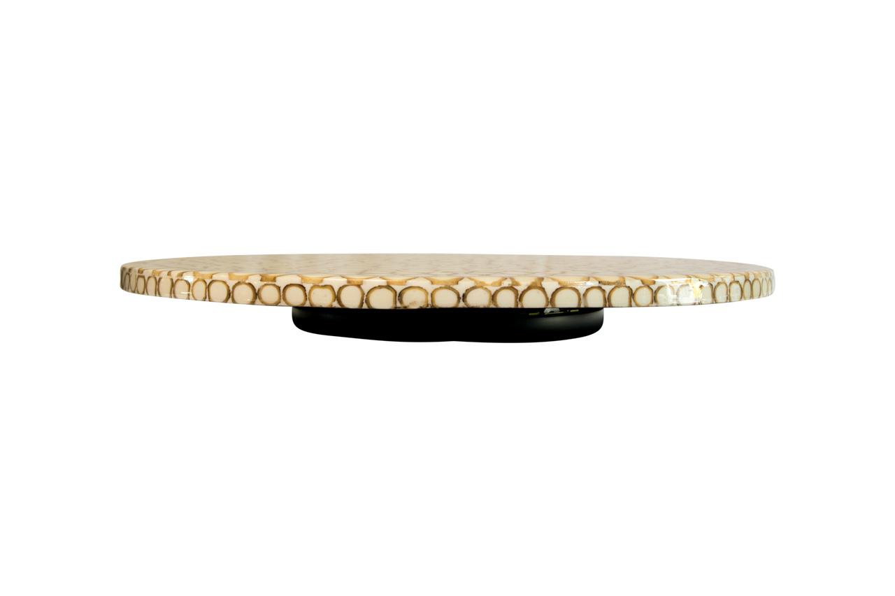 Tabla de queso en semillas de tagua