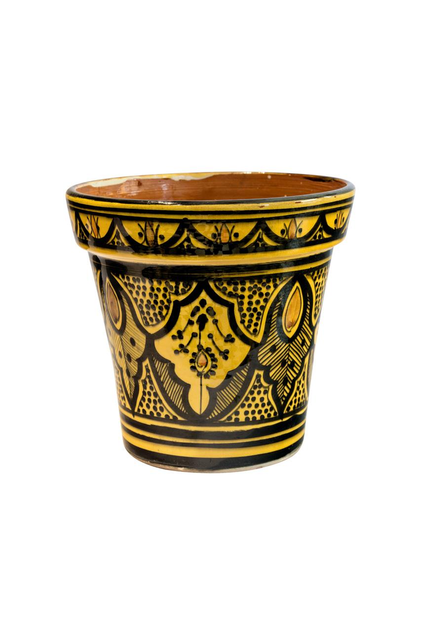 Matera Marroquí en cerámica, amarilla
