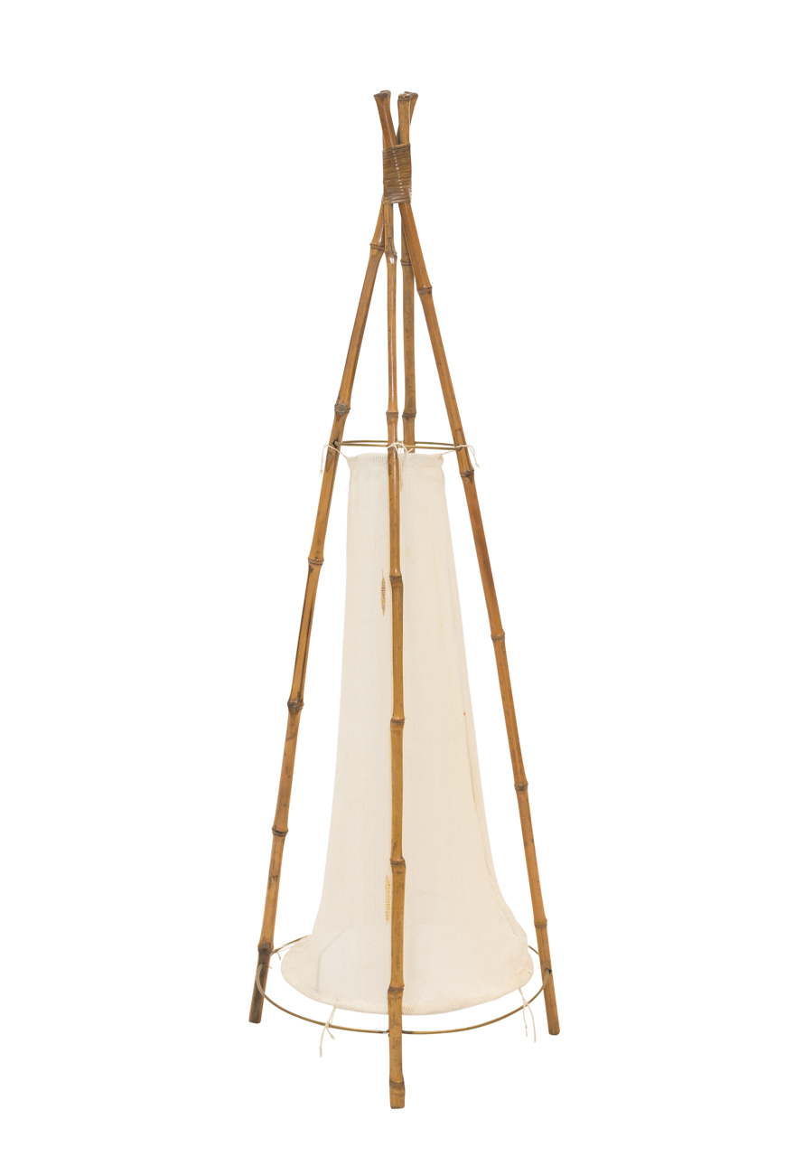 Floor lamp in Bamboo
