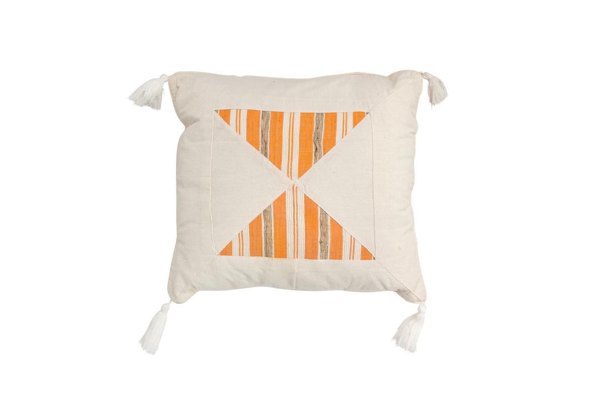 Indonesia Triangles Cushion