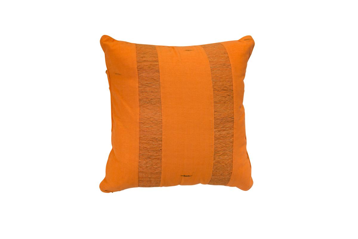 Indonesia orange cushion